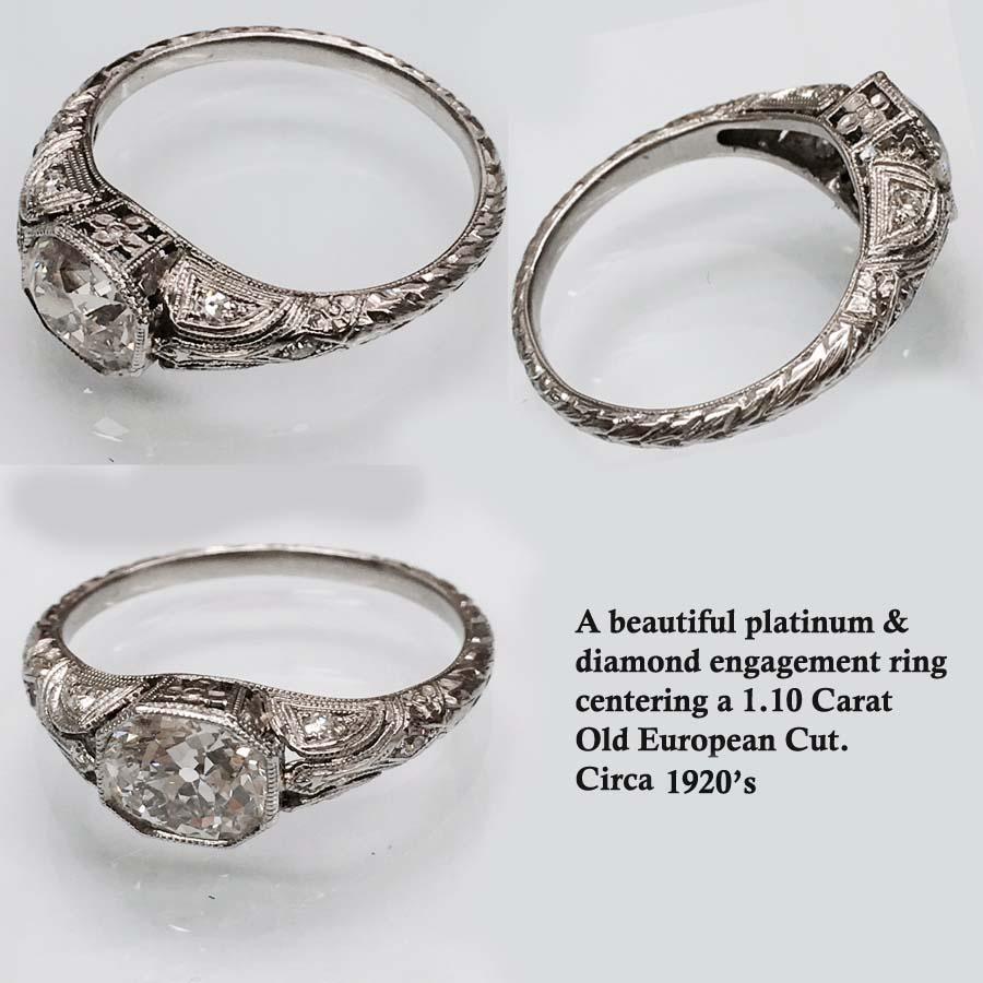art deco period nobel antique jewelry